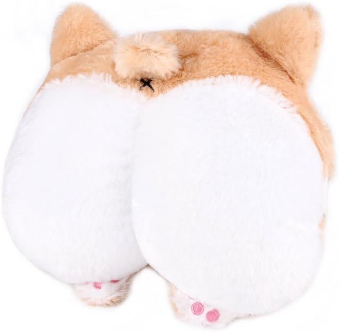 RUTICH Corgi Butt Car Neck Pillow, Cute