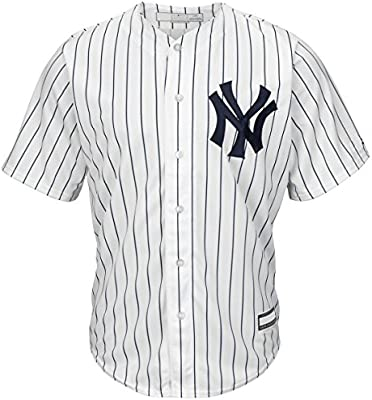 Outerstuff Gary Sanchez New York Yankees #24 - Camiseta de Manga Corta, Color Blanco, Jovenetud S, Wht/Pinstripe: Amazon.es: Deportes y aire libre