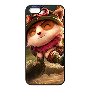 Custom Personalized LOL Back Cover Case TPU for iphone 5,5S JN5S-1085