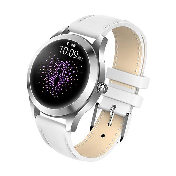 Amazon.com: Smart Bracelet Watches, KW10 Waterproof Heart ...