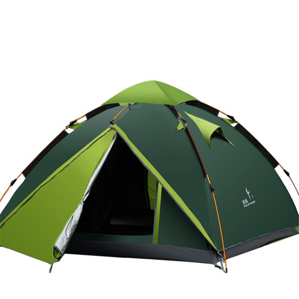 屋外テント、ダブルキャンプ、キャンプ、防雨完全自動フィールドテント   B07C1X5S85, キタモトシ:a3bd6044 --- ijpba.info