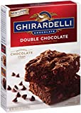 Ghirardelli Double Chocolate Brownie Mix, 18-Ounce Boxes (Pack of 12)