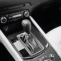 Real Carbon Fiber Gear Box Handbrake Panel Cover Trim for Mazda CX-5 2017-2018