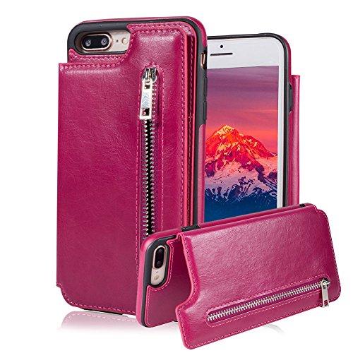 Para Samsung Galaxy S7Funda de bolsillo, aearl parachoques de Tpu carcasa trasera clásico de cierre de botón de cierre...