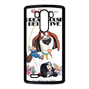 LG G3 Cell Phone Case Black Basil The Great Mouse Detective 004 OQ7684341