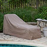 OKSLO Iii taupe chaise lounge cover model x1876