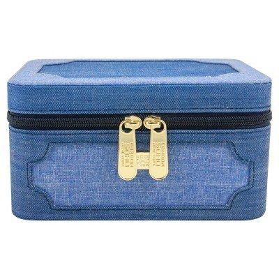 SOHO Medium Organizer Box Chambray Blue by Soho