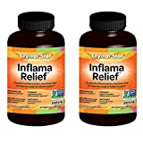 Crystal Star Inflama Relief Herbal Supplements, 60 Count (120) Review