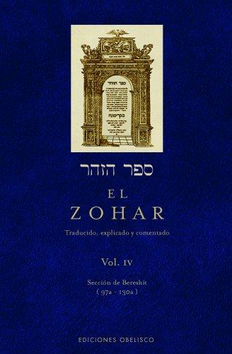 El Zohar, Vol. 4 (Spanish Edition)