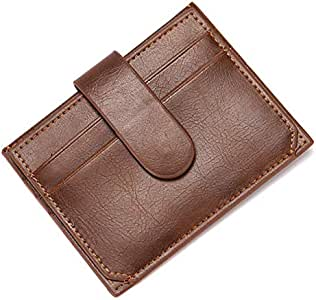 CUIKCA Brown Faux Leather For Men - Card & ID Cases