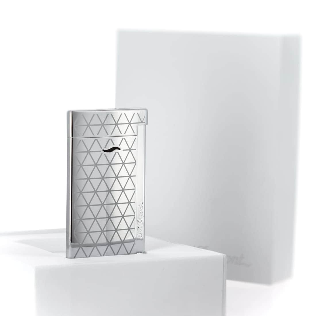 S.T. Dupont chrome firehead slim 7 lighter by S.T. Dupont (Image #2)