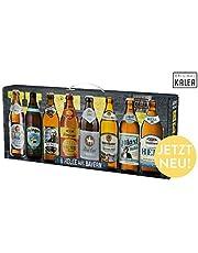 Beer Tasting Box | Geschenk-Idee | Papa | Männer | Bier-Spezialitäten von Privatbrauereien | mit Henkel | Geburtstag