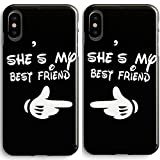 Frepstudio Compatible Cute BFF Best Friends Sisters Cousins Carton Finger She's My Best