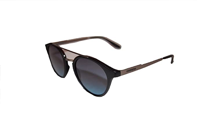 86b049193a Carrera 123 S Sunglasses Black Dark Ruthenium Gray Gradient Turquoise