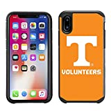 Prime Brands Group Textured Team Color Cell Phone Case for Apple iPhone X - NCAA Licensed University of Tennessee Volunteers