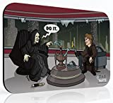 Dab to the Darkside Dab Mat - Dab Sidious & Anakin Slabwalker - Mousepad Style Dabmat | Dabpad | Rigmat | Dabmatz (10x16 inch XL Rectangle)