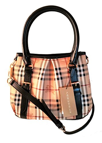 Burberry Haymarket Northfield Tote Bag