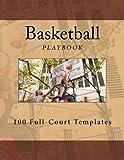 Basketball Playbook: 100 Full-Court Templates