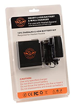 Milwaukee Leather BATTERYHOODY Universal Battery Pack (for Heated Hoodie)