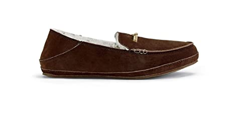 OluKai Pa'Ani Slipper - Women's Dark Java/Dark ...