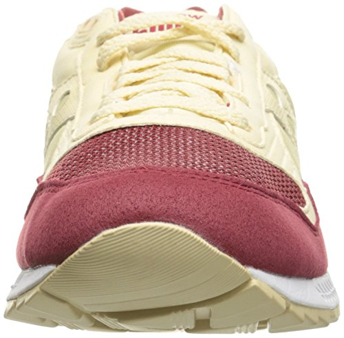 Saucony Shadow 5000 1735 scarpe - Sneakers unisex S70033-101, Cream/Red, Crema (39)