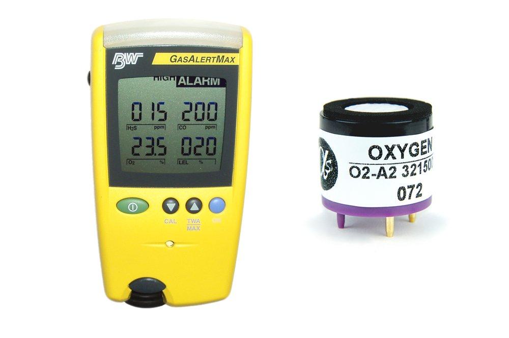 Replacement Oxygen Sensor for BW Tech Gas Alert Max