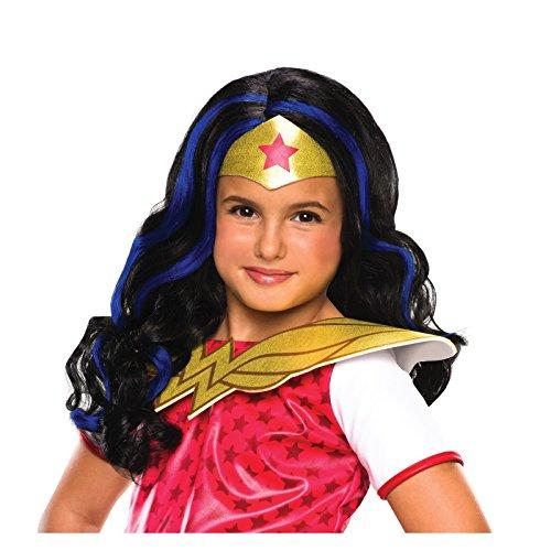 DC Superhero Girls: Wonder Woman Child Wig