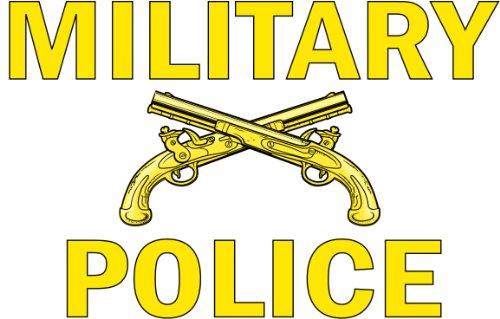 (United States Army Military Police Window Strip Decal Sticker 11.5