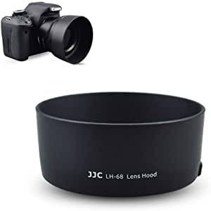 Replacement of Canon ES-62 Lens Hood Inner Flocked Lens Hood Fotasy Dedicated Lens Hood for Canon EOS EF 50mm f//1.8 II Lens