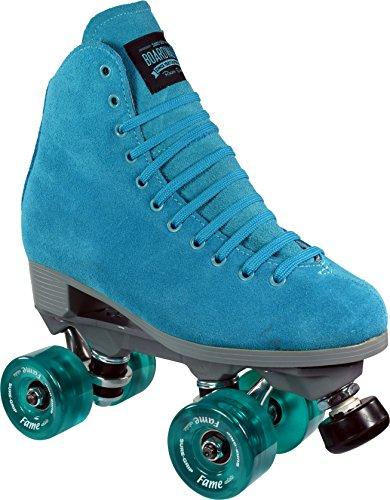 - Sure-Grip Boardwalk Fame Roller Skate Package - Blue sz Mens 8 / Ladies 9