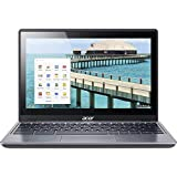 Acer C720p-2625 11.6in Touchscreen ChromeBook Intel Celeron 2955U Dual-core 1.40 GHz 4 GB RAM, 16 GB SSD, Chrome OS (Renewed)