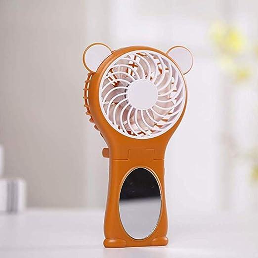 YUKILO Ventilador de Mano Espejo Plegable Ventilador Allkeys Mini ...