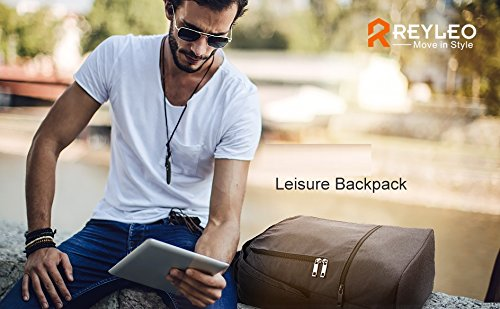 335f045a70f REYLEO Travel Backpack Water Resistant School Bag Rucksack Daypack for  Business Work RB17 - RB17   Kids  Backpacks   Clothing