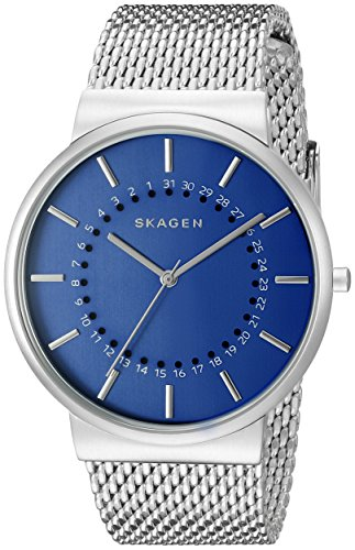 Skagen-Mens-SKW6234-Ancher-Stainless-Steel-Mesh-Watch