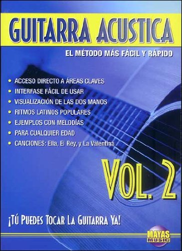 Guitarra ACústica, Vol 2: ¡tú Puedes Tocar La Guitarra YA! Spanish ...