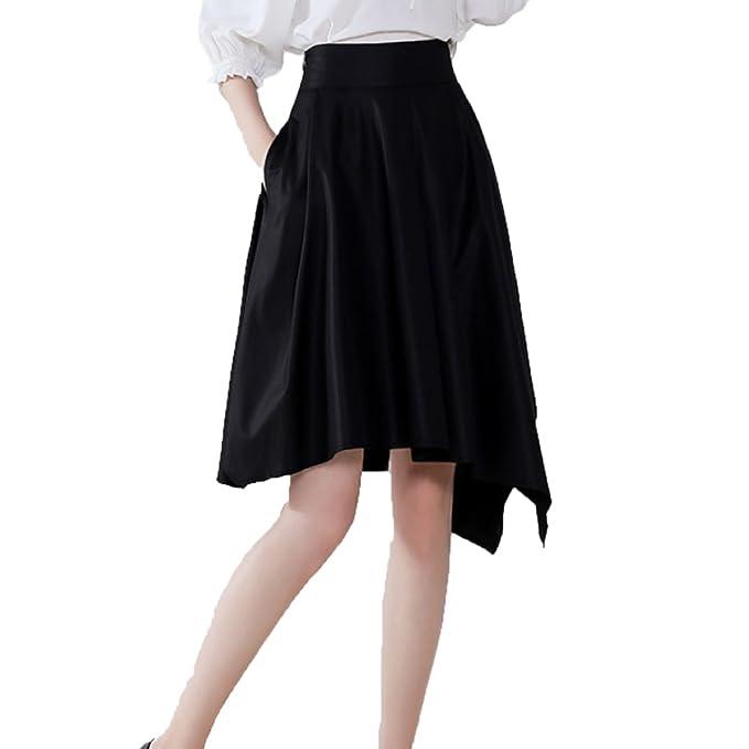new product a5bda 13e4a NIAIS Gonna Irregolare Summer Lady A-Line Gonna Longuette ...