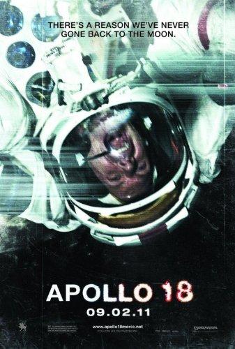 APOLLO 18 Original Movie Poster 27x40 - Dbl-Sided - Ryan Robbins - Warren Christie - Andrew Airlie Apollo 18 Poster