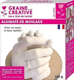 polvo de fundici/ón fundici/ón a mano de Glinco Kit de memoria para manos de beb/é con alginato cubo de mezcla y pinturas para parejas