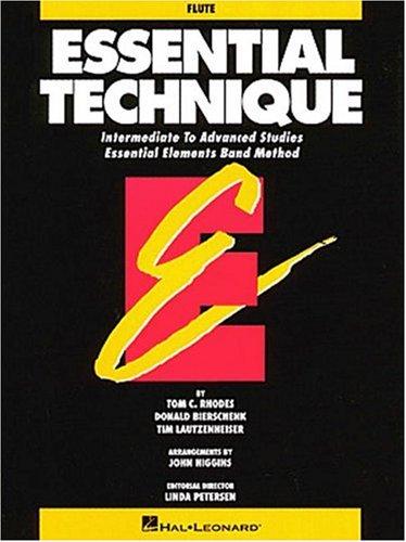 Essential Technique: Flute Intermediate to Advanced Studies