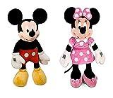 Jumbo 40' Plush Disney Mickey and Minnie Mouse Doll Bundle