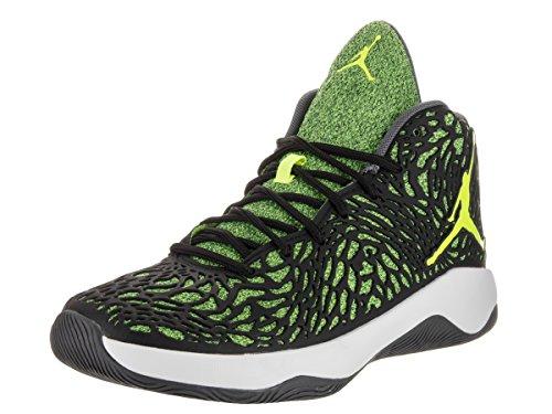 Nike Jordan Men's Jordan Ultra.Fly Black/Volt White Basketball Shoe 9 Men US 834268 002