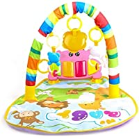 Techhark Kick and Play Multi-Function ABS High Grade Plastic Deluxe Activity Piano Baby Gym and Fitness Rack (multi)