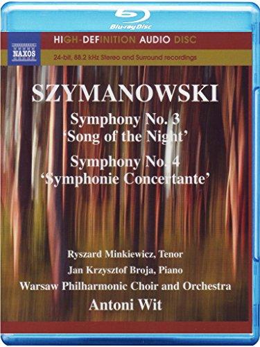 Antoni Wit - Symphonies 3 & 4 (Blu-ray Audio)