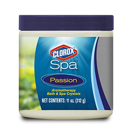 Passion Spa - Clorox Spa 50011CSP Passion Aromatherapy Bath and Spa Crystals, 11-Ounce