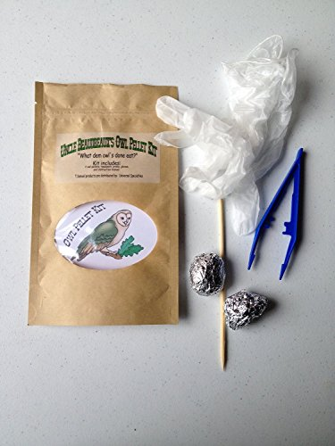 Uncle Beaudreaux's Owl Pellet Kit