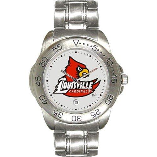 Louisville Cardinals Men's Sport ''Game Day Steel'' Watch