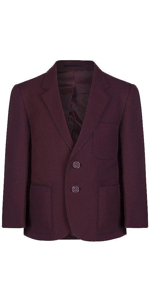 92cm = 36 Boys Maroon Polyester School Blazer