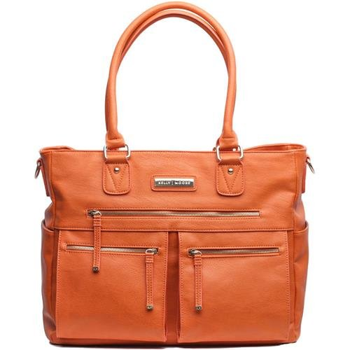 Kelly Moore Libby Orange Fashionable Camera Bag by Kelly Moore