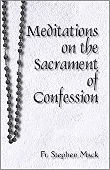 Book Meditations on the Sacrament of Confession