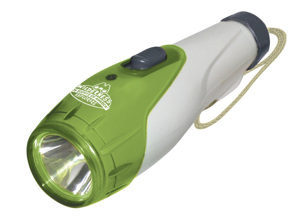 Kid Galaxy Boy Scouts of America Toy Flashlight-  Great for Hiking, Camping, Campfires, Outdoor Play and Wilderness Fun!